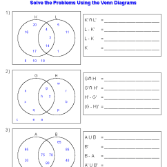 Maths Sets And Venn Diagrams Cat 5e Cable Diagram Worksheets Dynamically Created Set Notation Problems Using Two