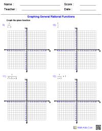 Rational Function Inequalities Worksheet - algebra 2 ...