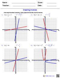 Graphing Logarithmic Functions Worksheet Free Worksheets ...