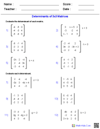 Algebra 2 Worksheets | Dynamically Created Algebra 2 ...