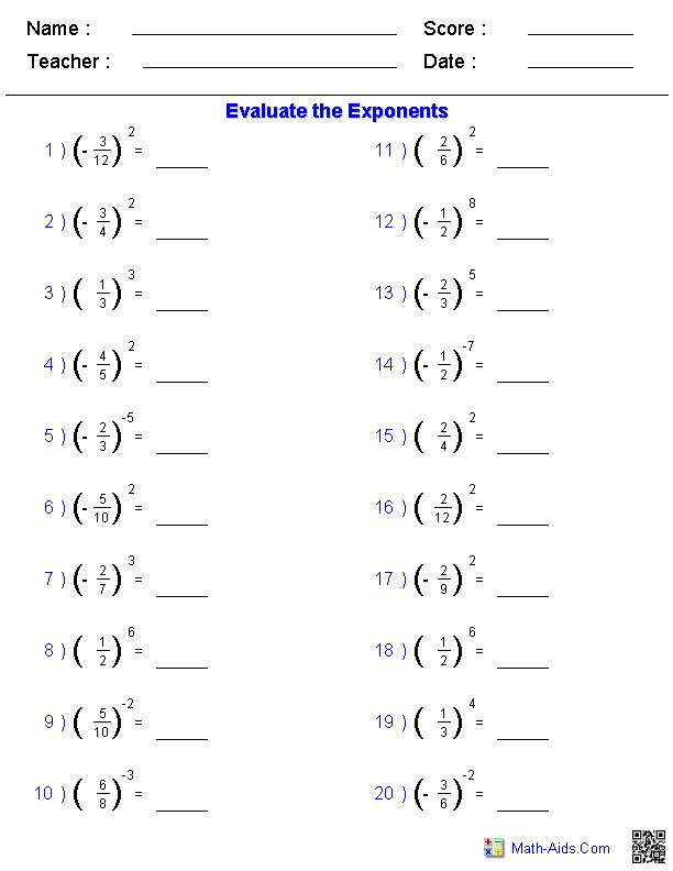 Image Result For 7th Grade Equations Solve Worksheets