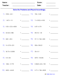 Significant Figures Worksheets | Printable Significant ...