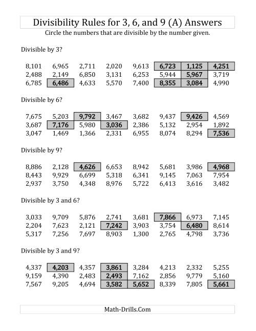 medium resolution of Divisibility Rules Worksheet 6th Grade - Promotiontablecovers