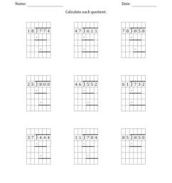 3-Digit by 2-Digit Long Division with Grid Assistance and Prompts and NO  Remainders (A) [ 1165 x 900 Pixel ]