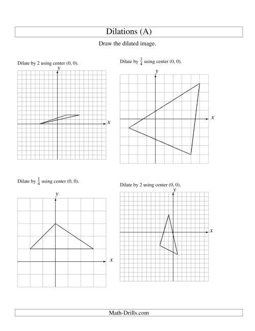 hight resolution of 29 Geometry Dilation Worksheet Pdf - Worksheet Project List