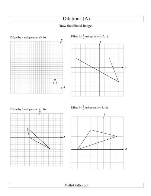 29 Geometry Dilation Worksheet Pdf - Worksheet Project List [ 1165 x 900 Pixel ]