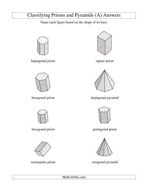 29 Prisms And Pyramids Worksheet - Worksheet Resource Plans [ 1165 x 900 Pixel ]
