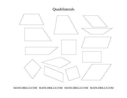 Quadrilaterals Set