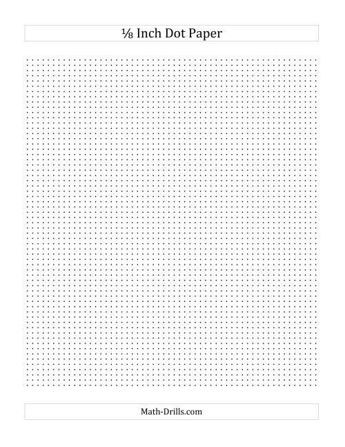 1 8 inch graph paper pdf