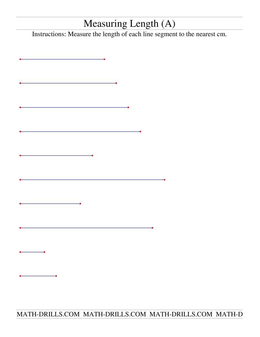 Me Sur G Length Of L E Segments Cm
