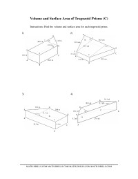 Math-Drills Search: surface area math worksheets