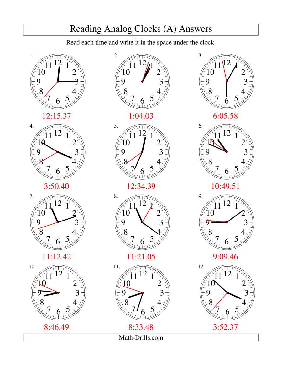 Re D G Time N N Log Clock 1 Sec D Terv Ls