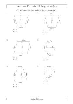Math-Drills Search: perimeter math worksheets