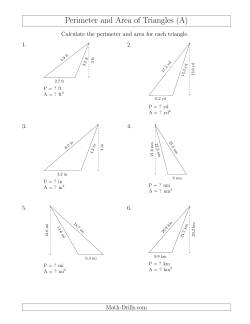 Math-Drills Search: area and perimeter math worksheets