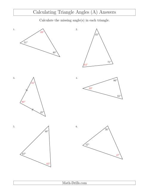 hight resolution of 35 Angles In A Triangle Worksheet - Worksheet Project List