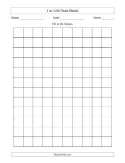 also blank chart rh math drills