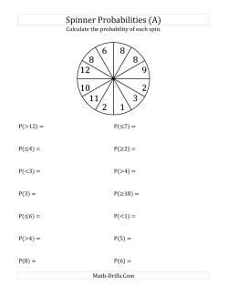Math-Drills Search: probability math worksheets