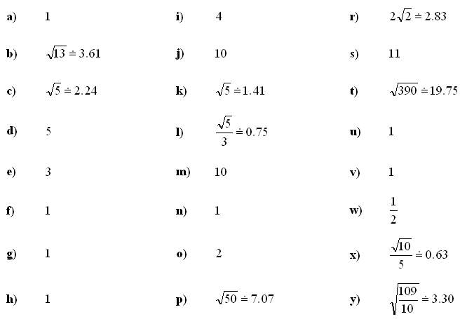 Answers to Math Exercises & Math Problems: Complex Numbers