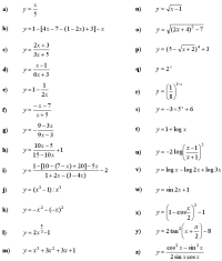 Inverse Functions Worksheet With Answers - Kidz Activities