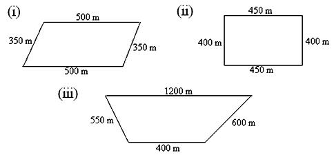 In worksheet on perimeter of a figure, all grade students