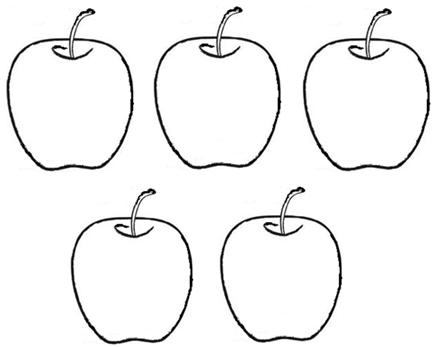 If someone asks me 'how many apples are on the table', and