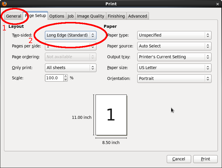 What Is Short Edge Manual On Duplex Printing
