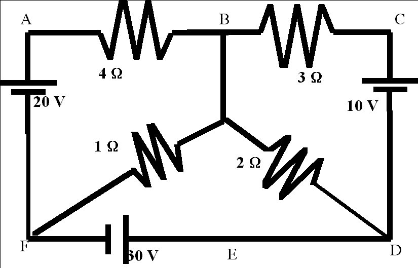 KBREEE: Excercise Problems(Electric Circuits)