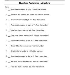 Free Algebra Worksheets pdf downloads. Algebra order of operations   Math  Champions [ 1100 x 850 Pixel ]