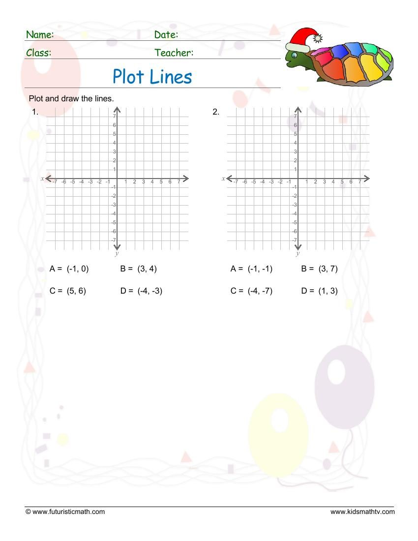 medium resolution of Free Graph Worksheets pdf printable   Math Champions