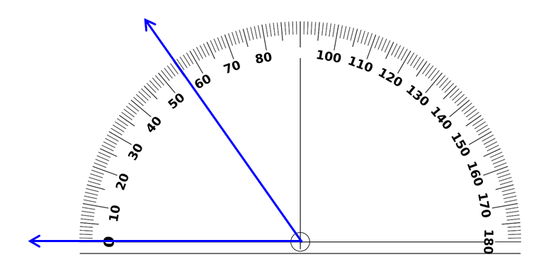 Fourth Grade / Using a Protractor to Determine Measures of