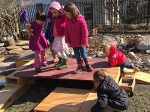 outdoor platform