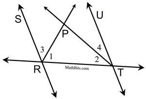 Proofs Involving Parallel Lines Practice