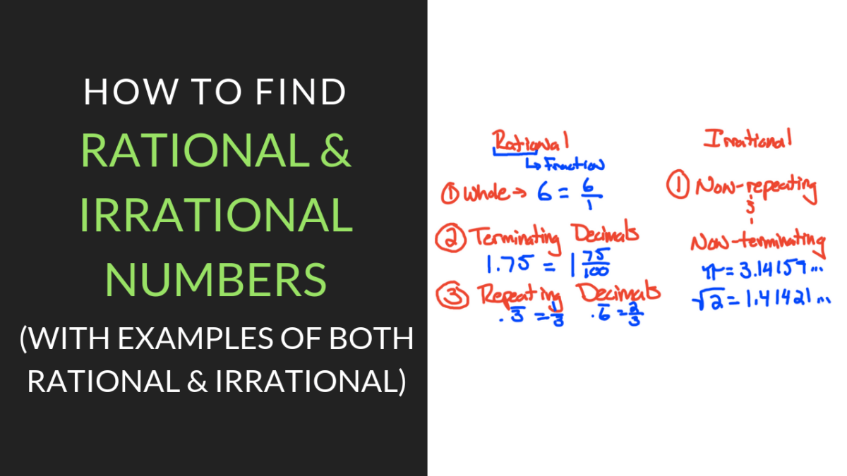 Get the Best, Free Rational and Irrational Numbers Worksheet Inside Rational Irrational Numbers Worksheet