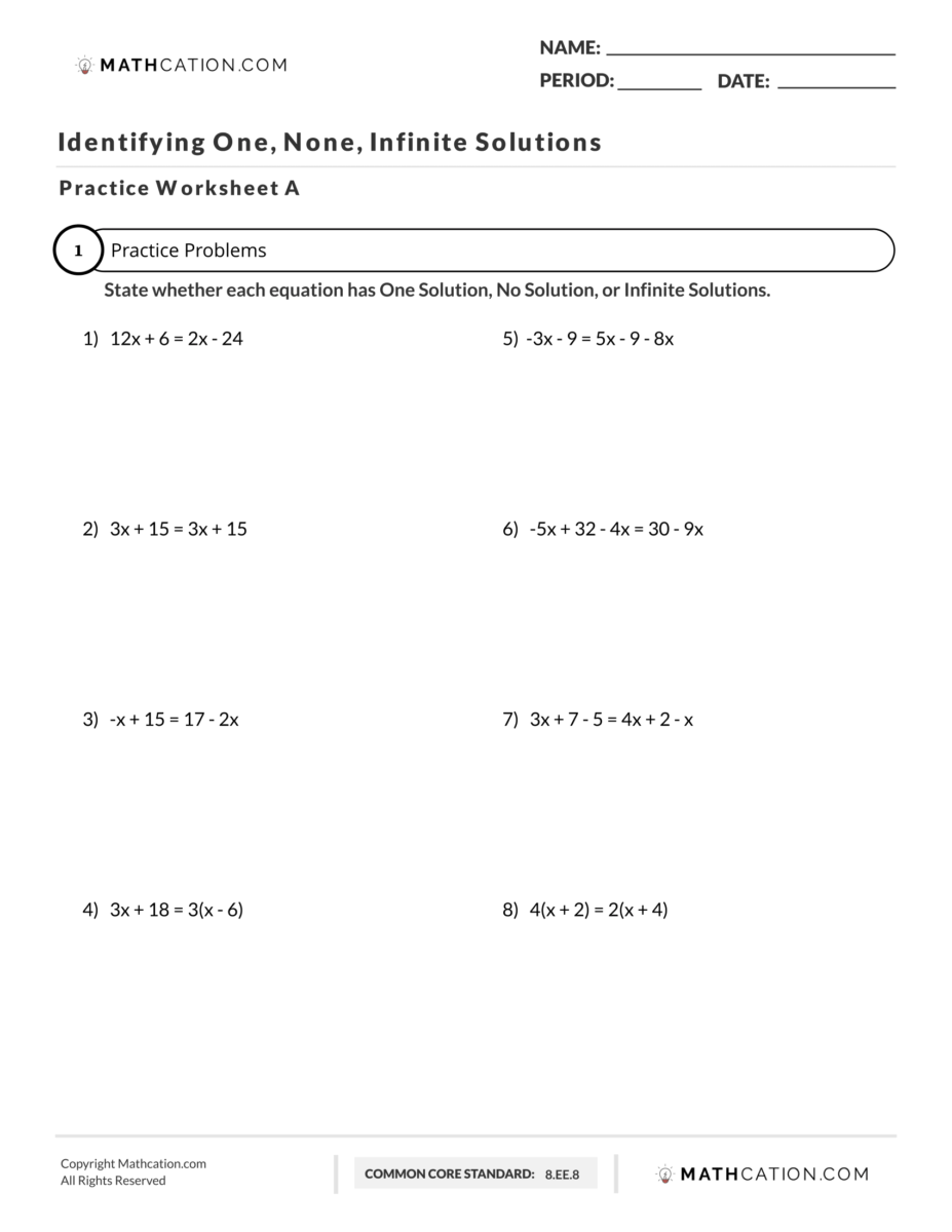 medium resolution of 4 Steps to Successfully Solve Systems of Linear Equations   Mathcation