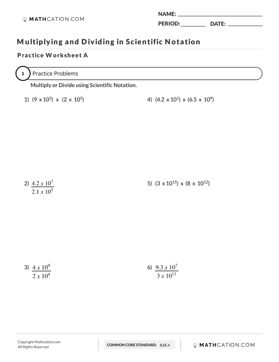 How to Multiply Scientific Notation in 5 Easy Steps   Mathcation [ 1200 x 927 Pixel ]