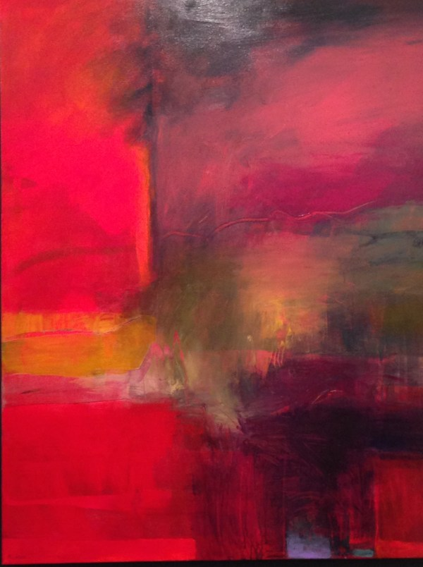 Abstract Art Opening 2015 Escape Writing