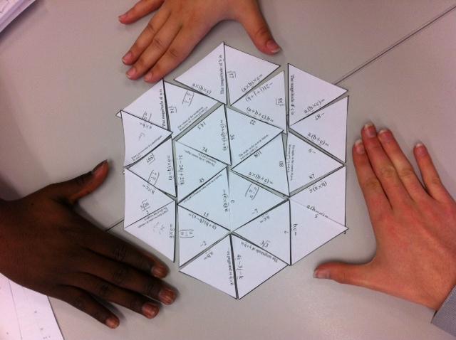 Vectors puzzle  MathedUp