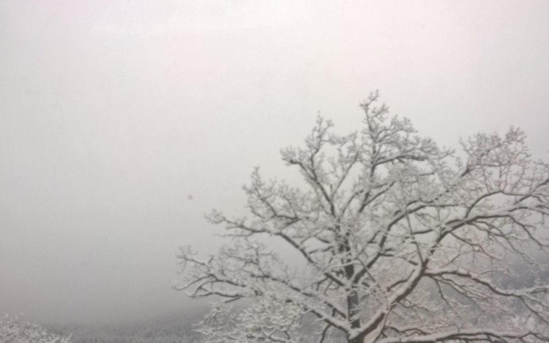Egerpataki hóhullás
