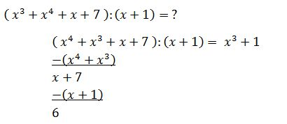 Determining Polynomials Basic Operations Most Important
