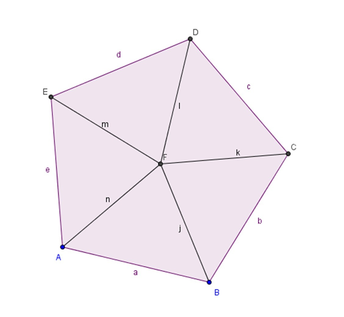 Bisecting Triangles Gives Five Congruent Triangles