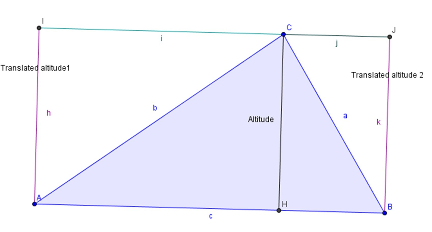 Calculate Surface Of Triangle