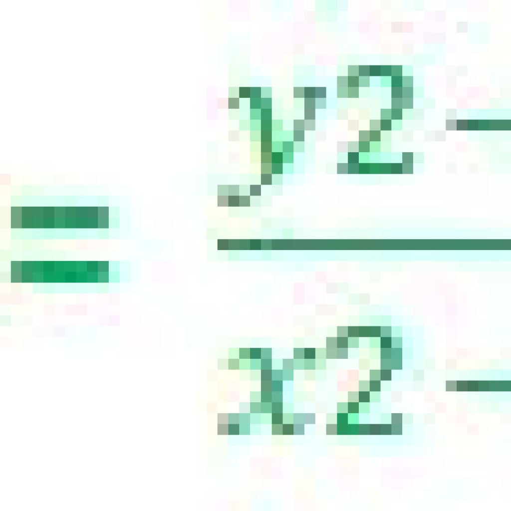Calculate Slope Formula