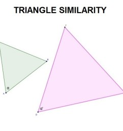 Triangle similarity theorems [ 1024 x 1024 Pixel ]