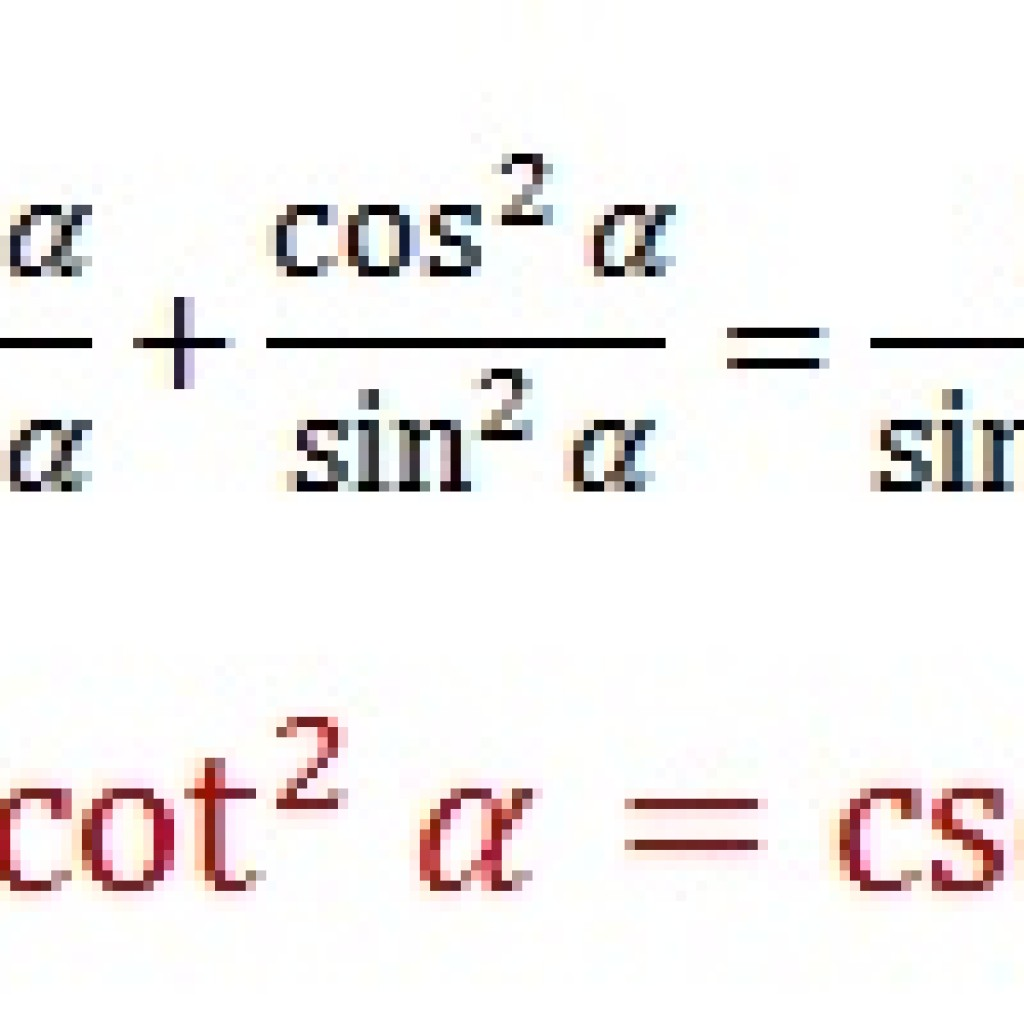 Cotangent And Cosecant Pythagorean Identity