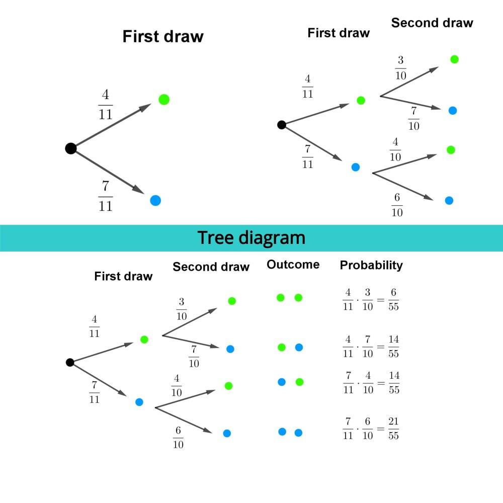 medium resolution of Tree diagram - Free Math Worksheets