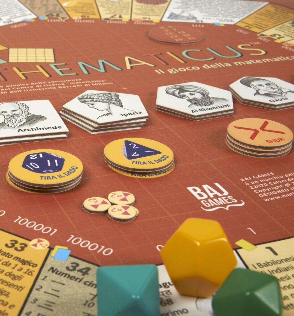 Tabellone Mathematicus - Il gioco della matematica