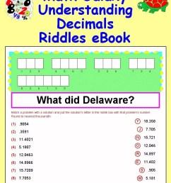 32 Riddle Math Worksheet Answers - Worksheet Resource Plans [ 1000 x 800 Pixel ]