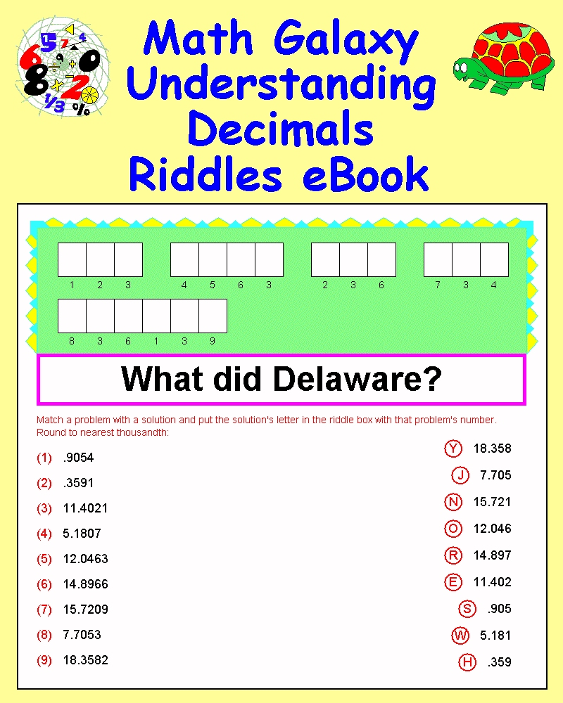 hight resolution of 32 Riddle Math Worksheet Answers - Worksheet Resource Plans