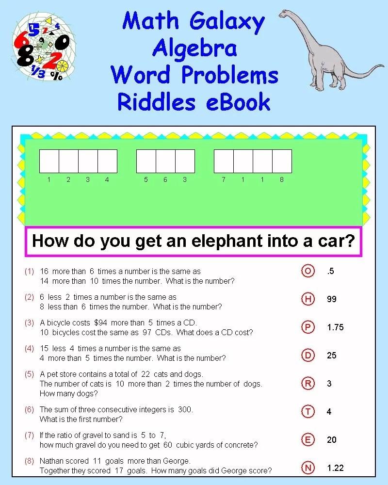 medium resolution of 32 Riddle Math Worksheet Answers - Worksheet Resource Plans