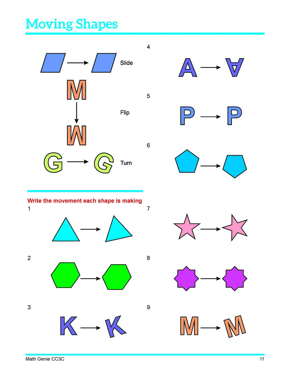 medium resolution of Congruent Shapes Worksheets Free 3rd Grade   Printable Worksheets and  Activities for Teachers